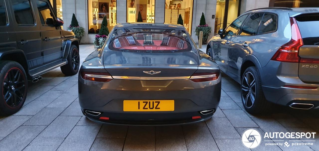 Aston Martin Lagonda Taraf blijft in Londen zelfs speciaal