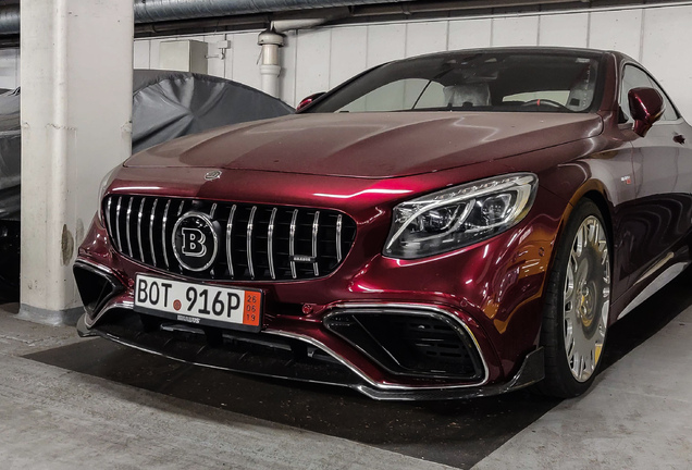 Mercedes-AMG Brabus S B40-800 Coupe C217 2017