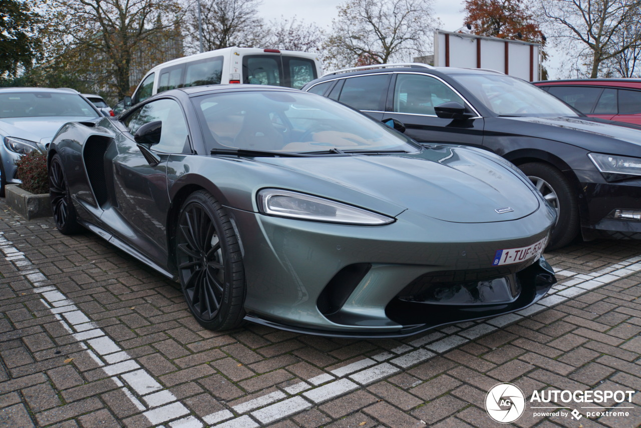 Is dit de eerste klantgeleverde McLaren GT?