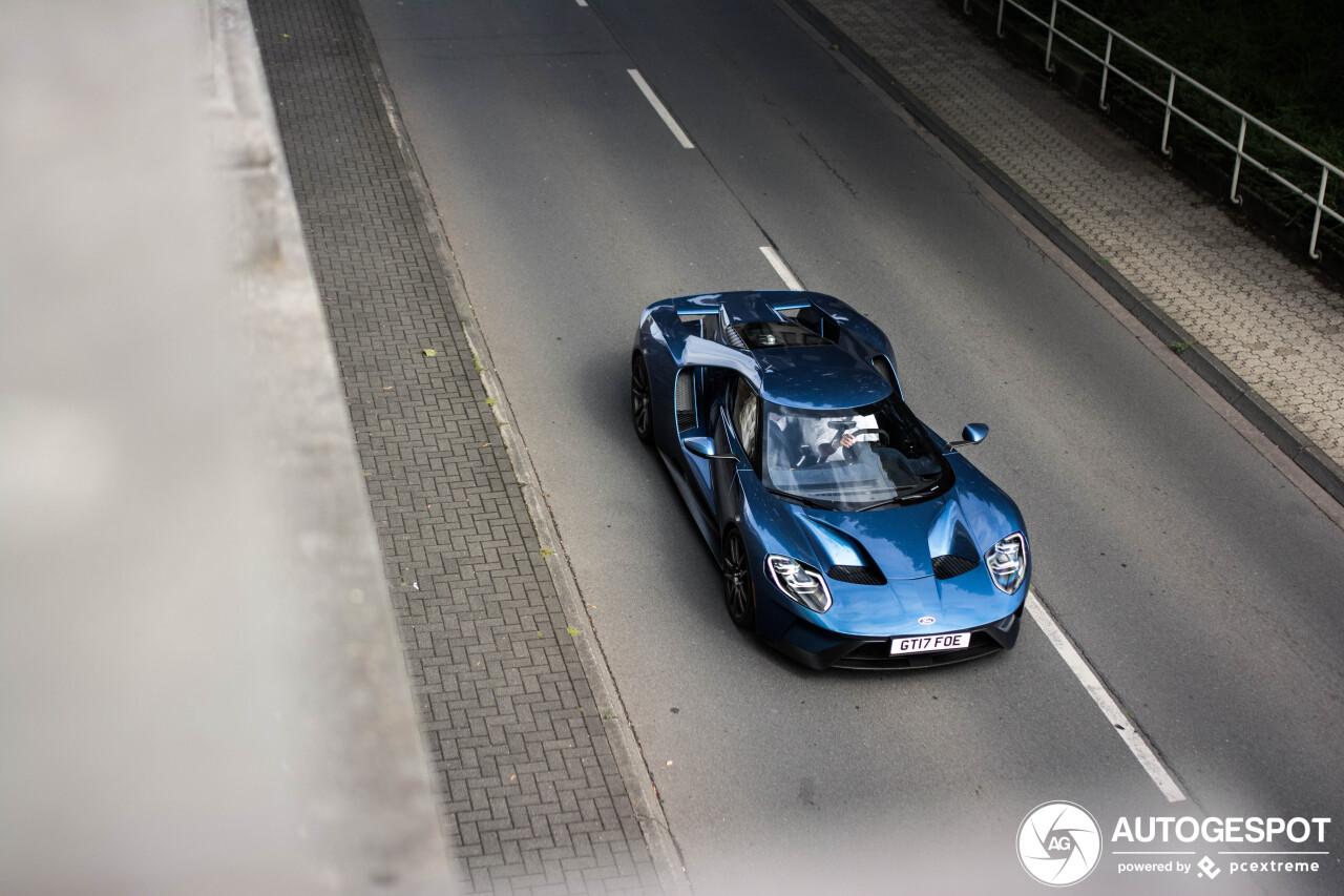 Ford GT 2017 kan ook dienst doen als boot