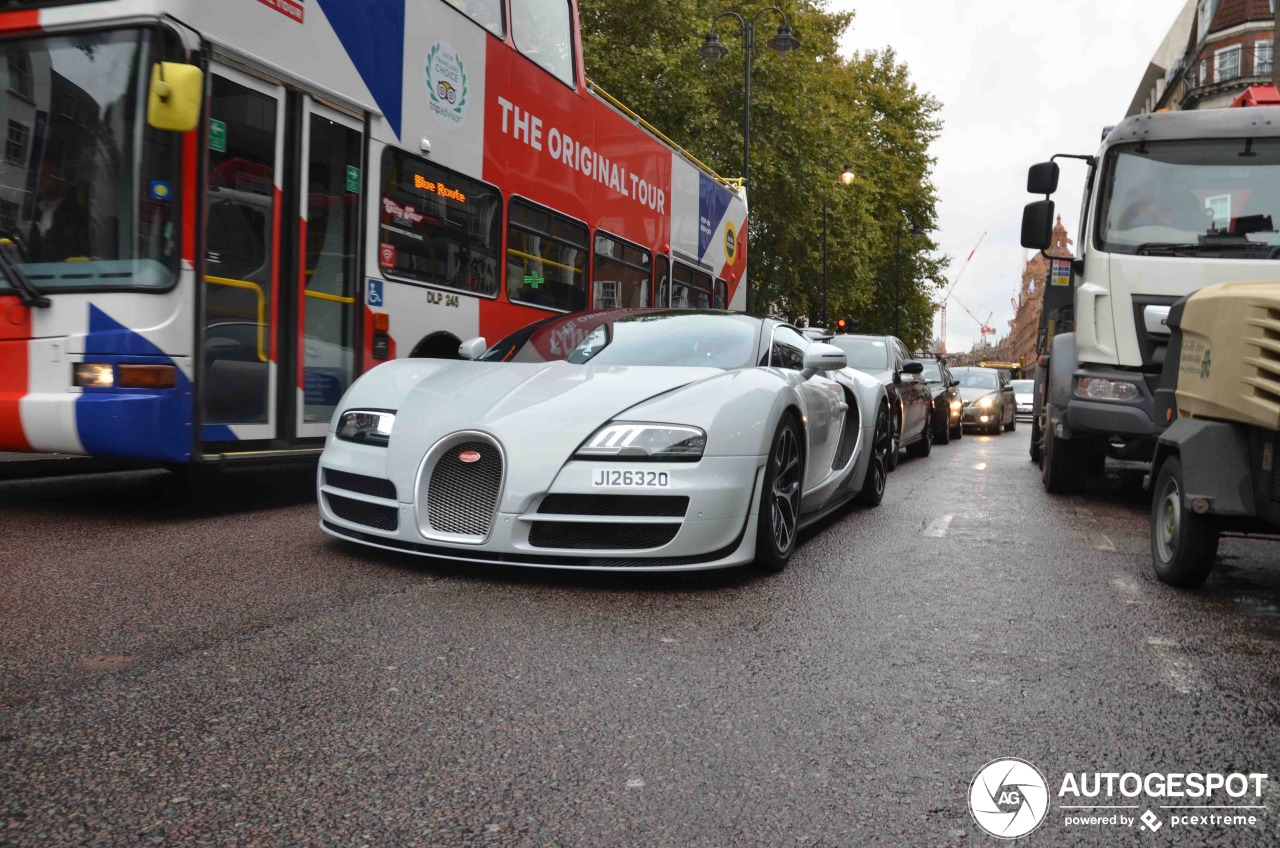 Speciale Bugatti voor Brazilië duikt op in Londen