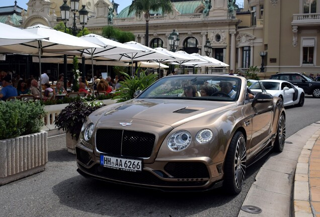 Bentley Mansory Continental GTC 2016