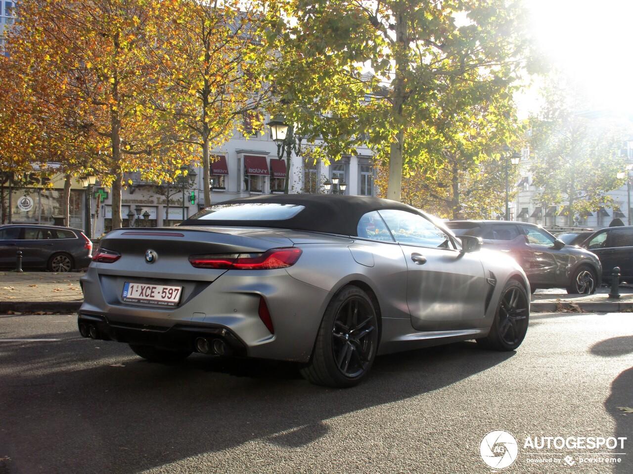 Primeur gespot: BMW M8 Convertible