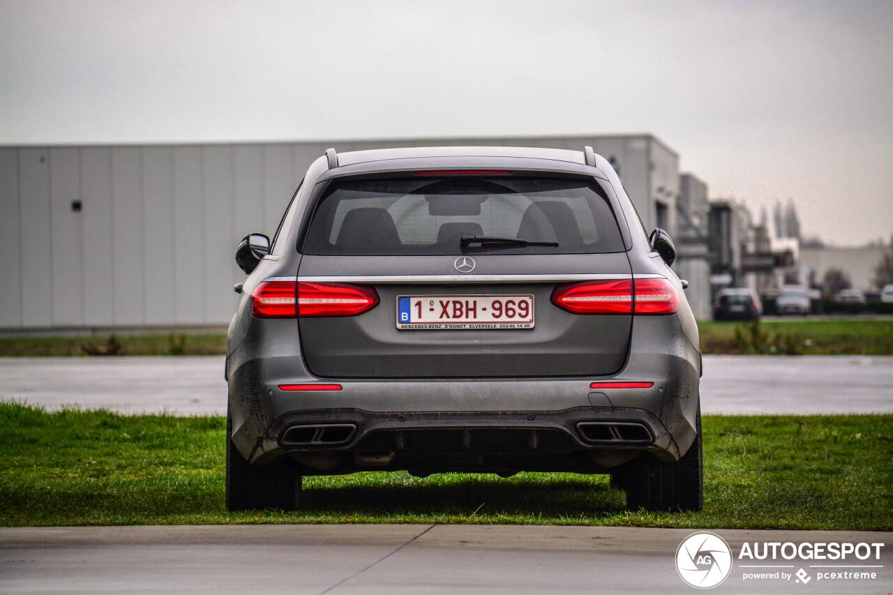 Gespot: de AMG die de Audi RS6 geen vuur aan de schenen kon leggen