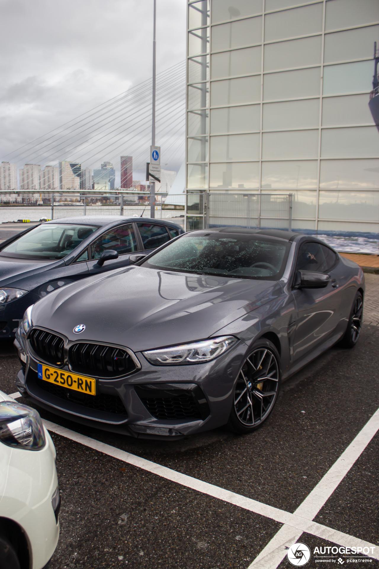 Spot van de dag: eerste BMW M8 Competition in Nederland gespot