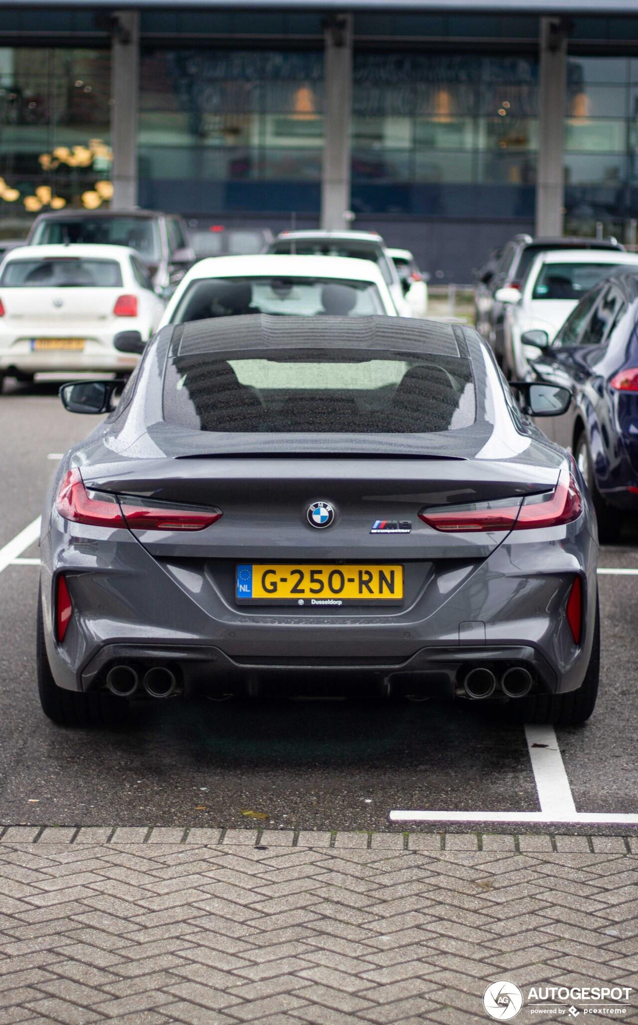 Eerste BMW M8 Competition in Nederland gespot