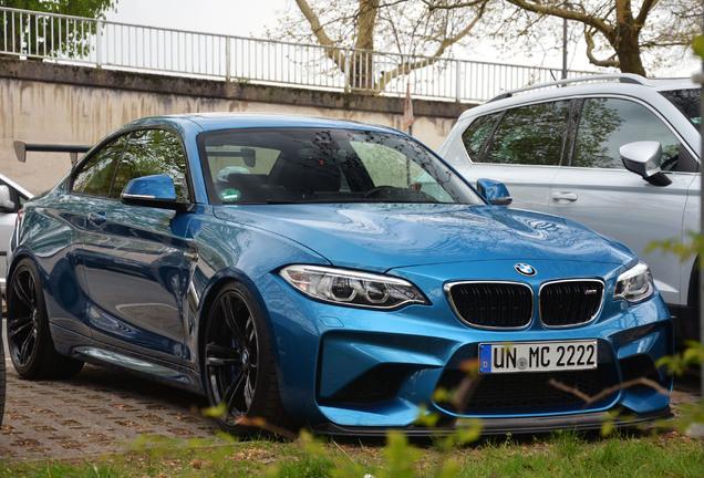 BMW M2 Coupé F87 Laptime-Performance