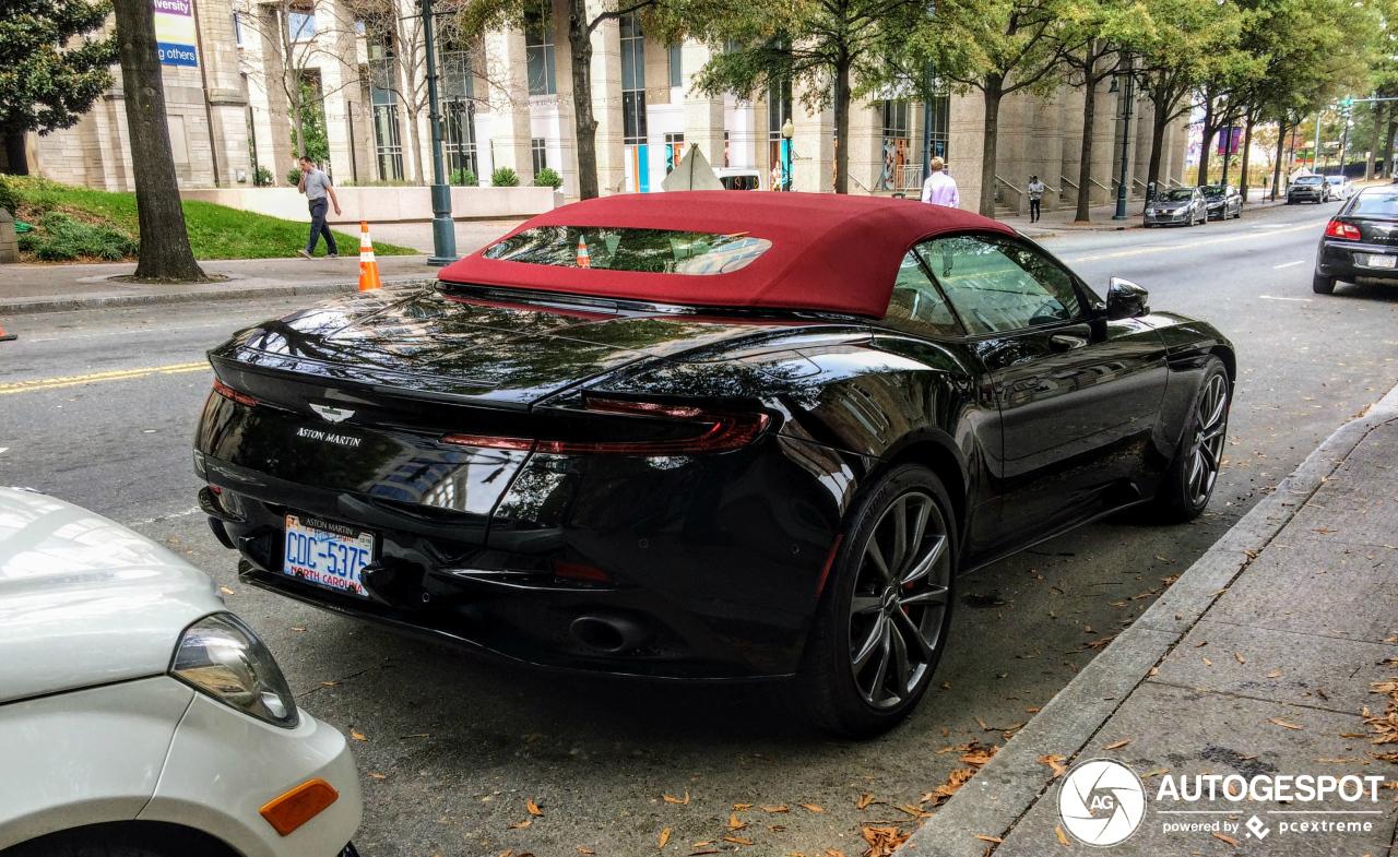 Aston Martin Db11 V8 Volante 30 November 2019 Autogespot