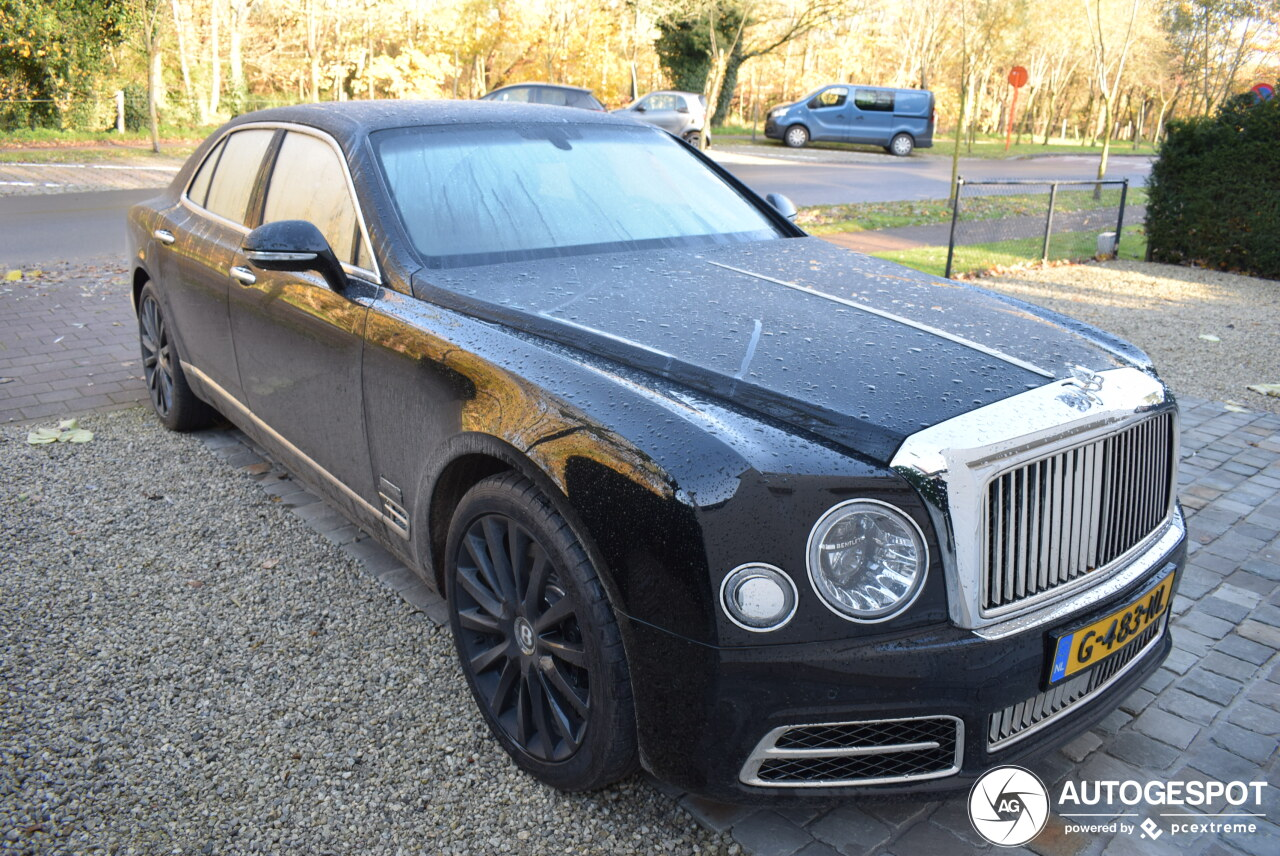 Bentley Mulsanne Speed W.O. Edition by Mulliner is speciaal