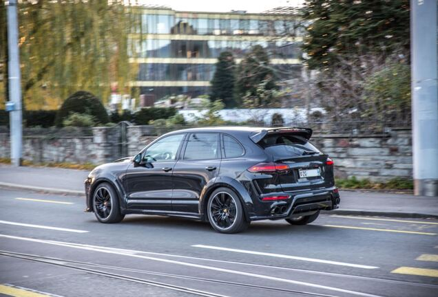 Porsche Cayenne Turbo Techart 2016