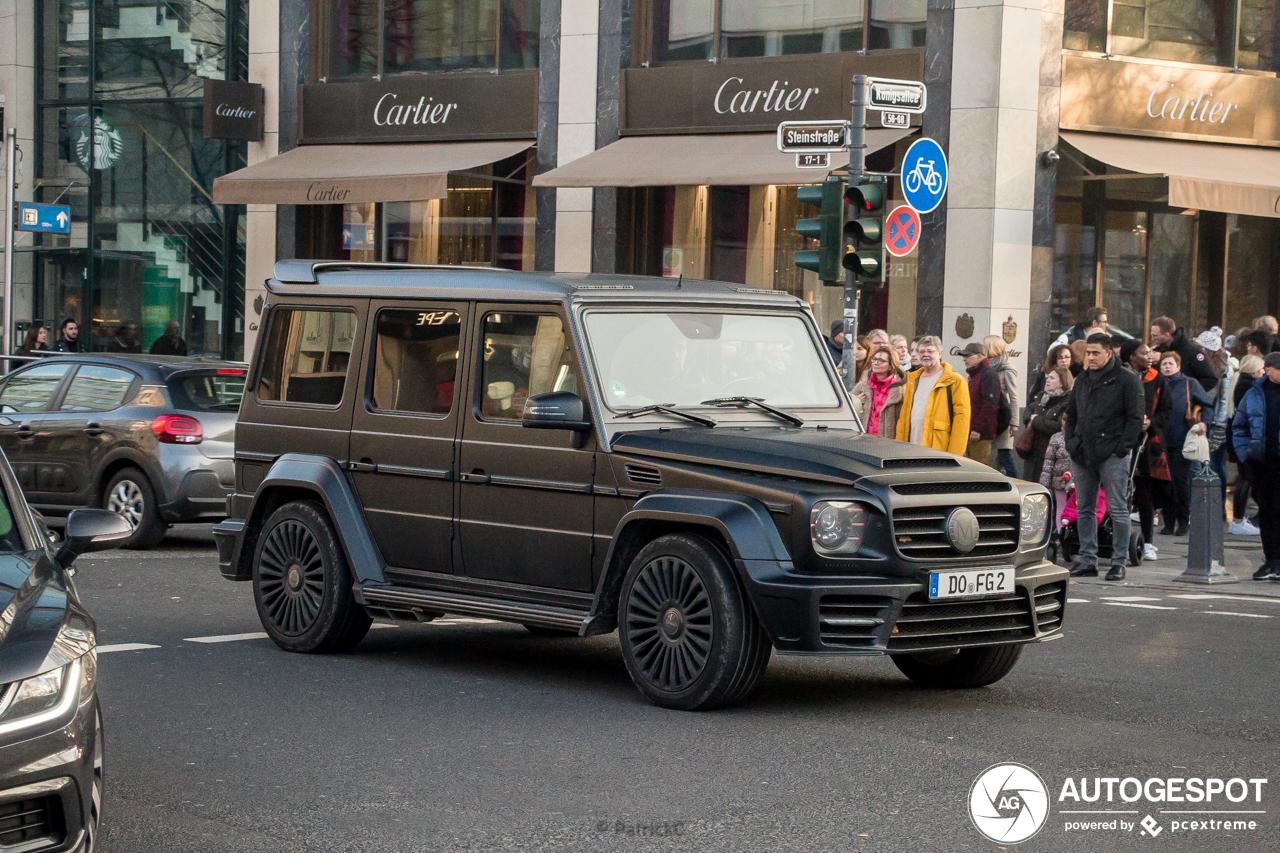 Mercedes-Benz Mansory Gronos Black Edition