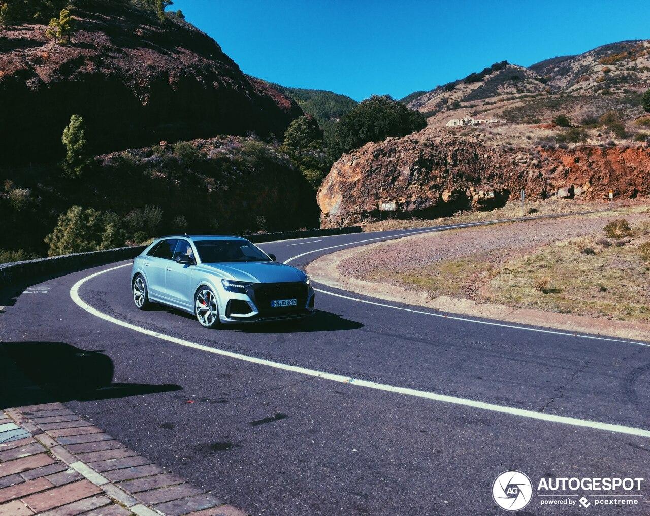 Audi RS Q8 speelt nu al buiten