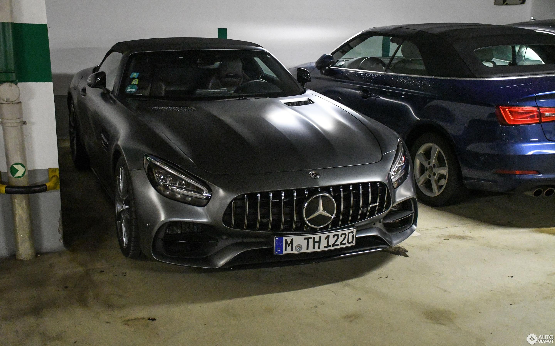Mercedes-AMG GT S Roadster R190 2019