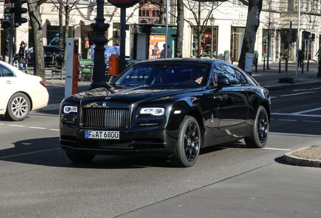 Rolls-Royce Wraith Black Badge