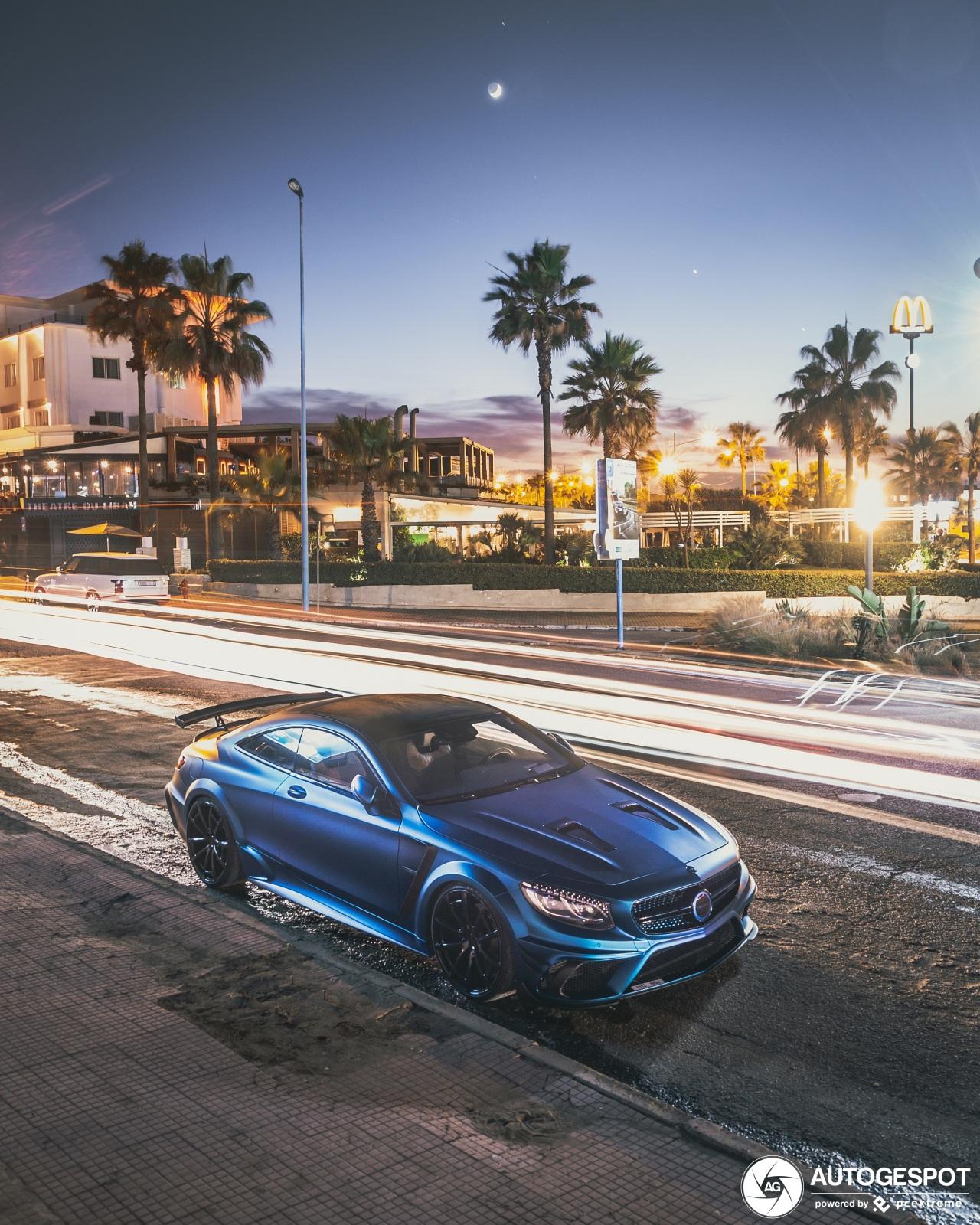 Mansory S 63 Coupe Diamond Edition steelt de show in Casablanca
