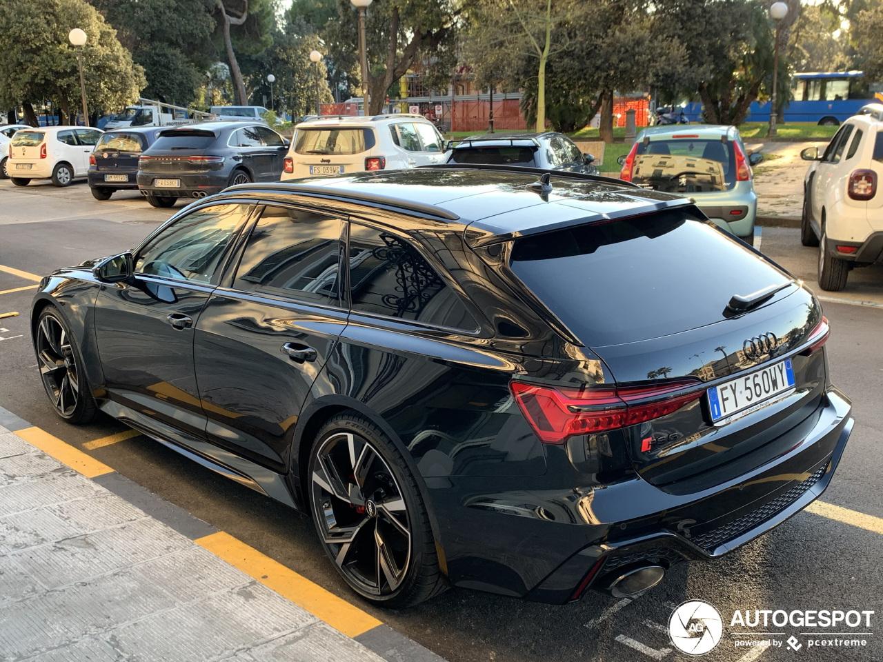 Het is los! De Audi RS6 Avant C8 nu ook gespot in het zwart