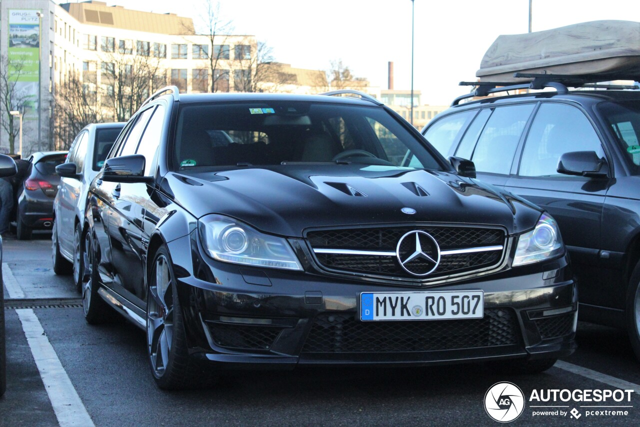 Mercedes-Benz C 63 AMG Estate Edition 507 is ondergeschoven kindje