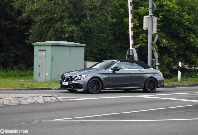 Mercedes-AMG C 63 S Convertible A205 2018