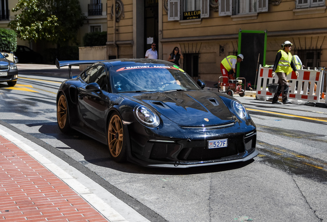 Porsche Manthey Racing 991 GT3 RS MR