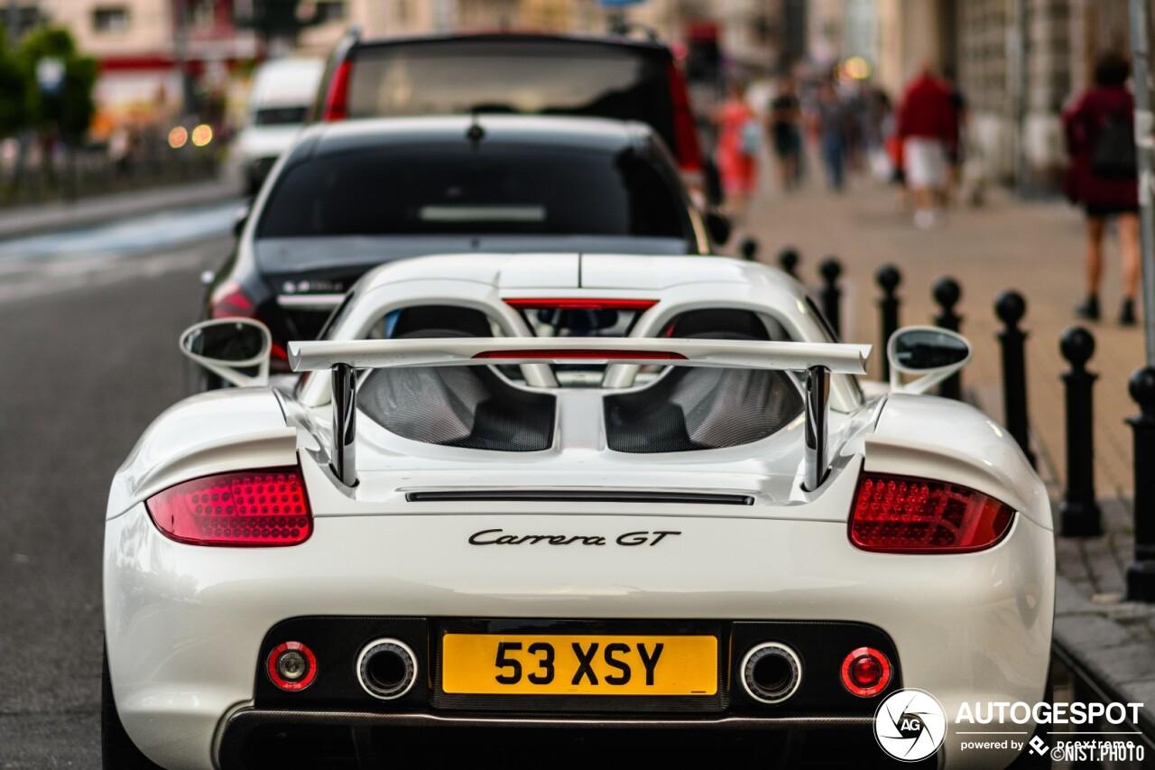 Porsche Carrera GT is graag geziene gast in Belgrado