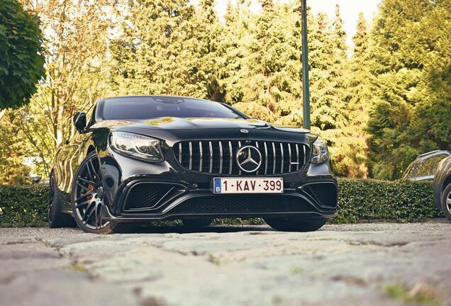 Mercedes-AMGS 65 Coupé C217 2018