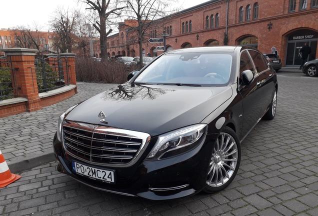 Mercedes-Maybach S 600 X222