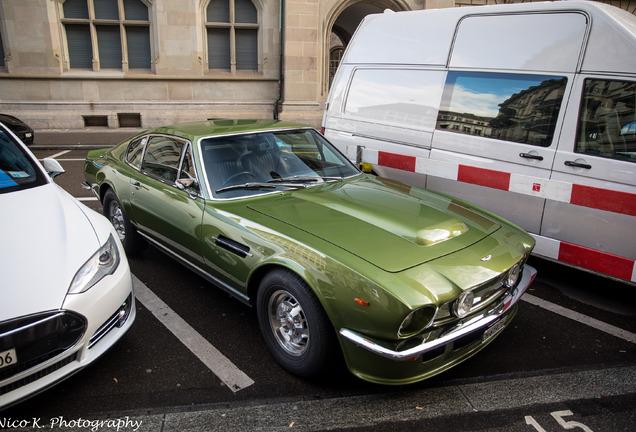 Aston Martin V8 Vantage Series 1 'Flip Tail'
