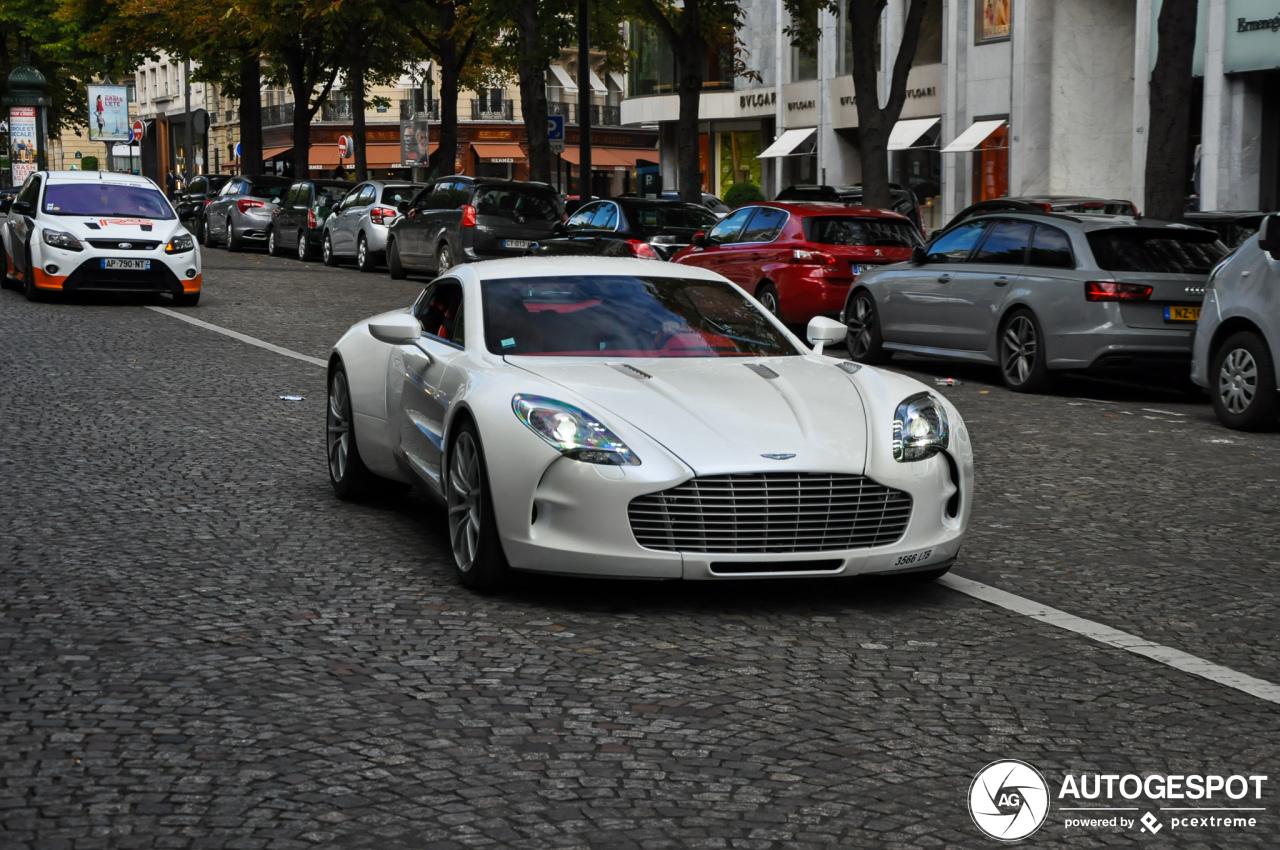 Aston Martin One-77 blijft een droomauto
