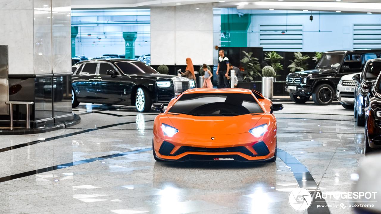 In deze Lamborghini kan je alles laten liggen