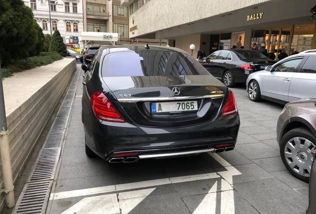 Mercedes-Benz S 63 V222 2017
