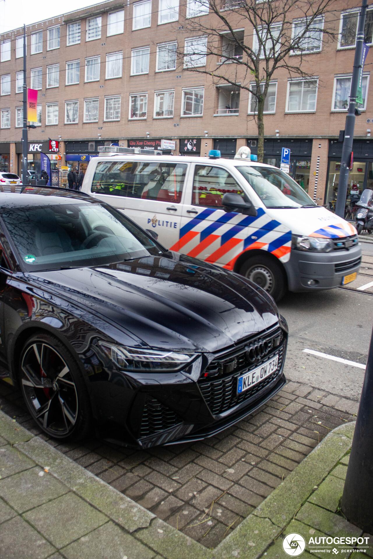 荷兰首摄:奥迪 RS6 Avant C8