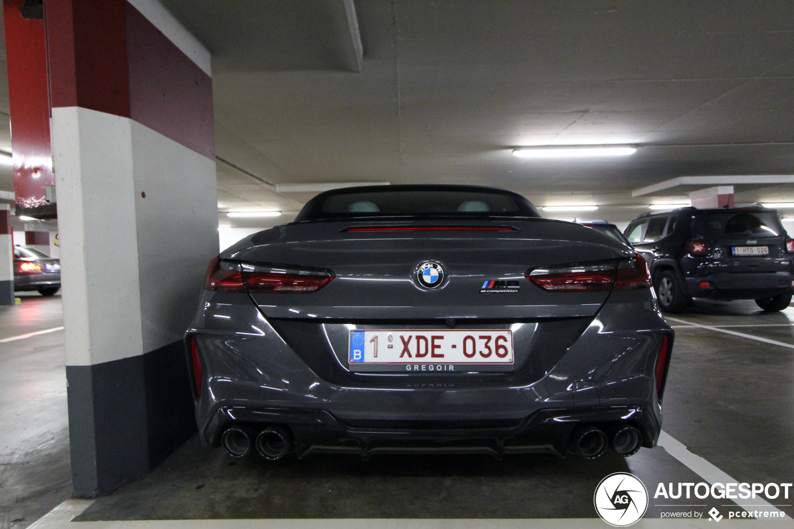 Gespot: BMW M8 Convertible Competition