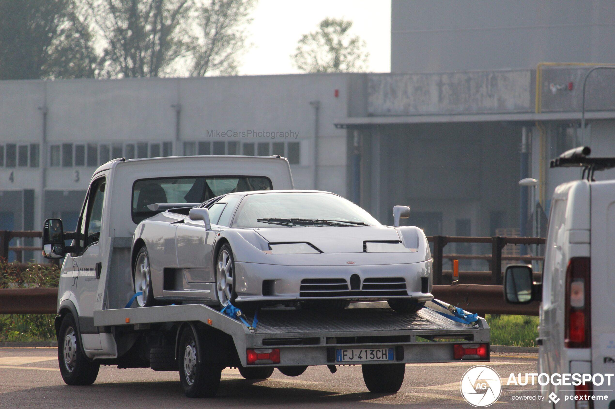 Bugatti EB110 SS laat zich liever rijden