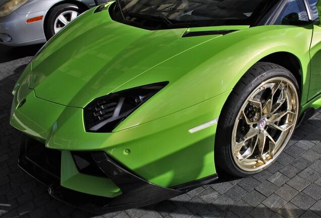 Lamborghini Aventador LP700-4 Roadster Vorsteiner Zaragoza