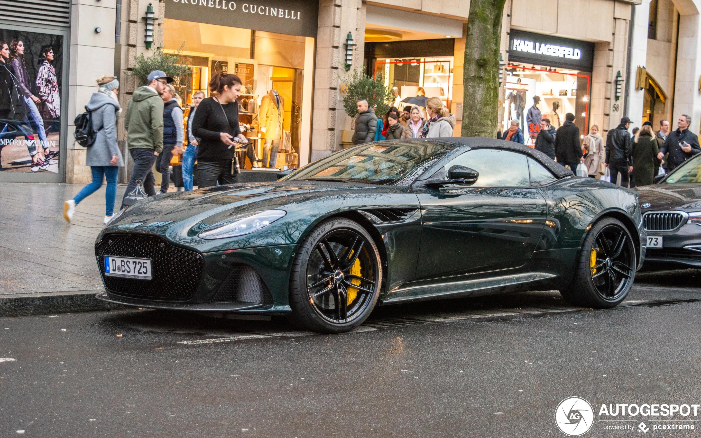 Aston Martin Dbs Superleggera Volante 23 December 2019 Autogespot
