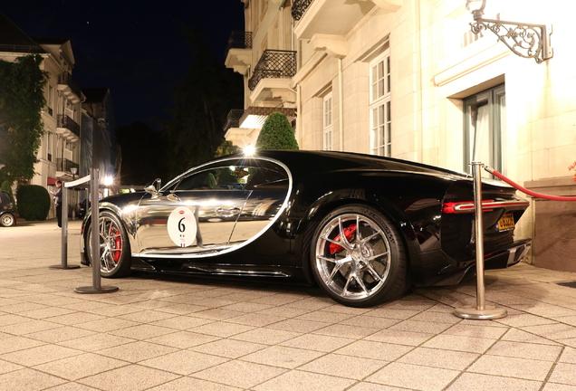 Bugatti Chiron La Mer Argentée