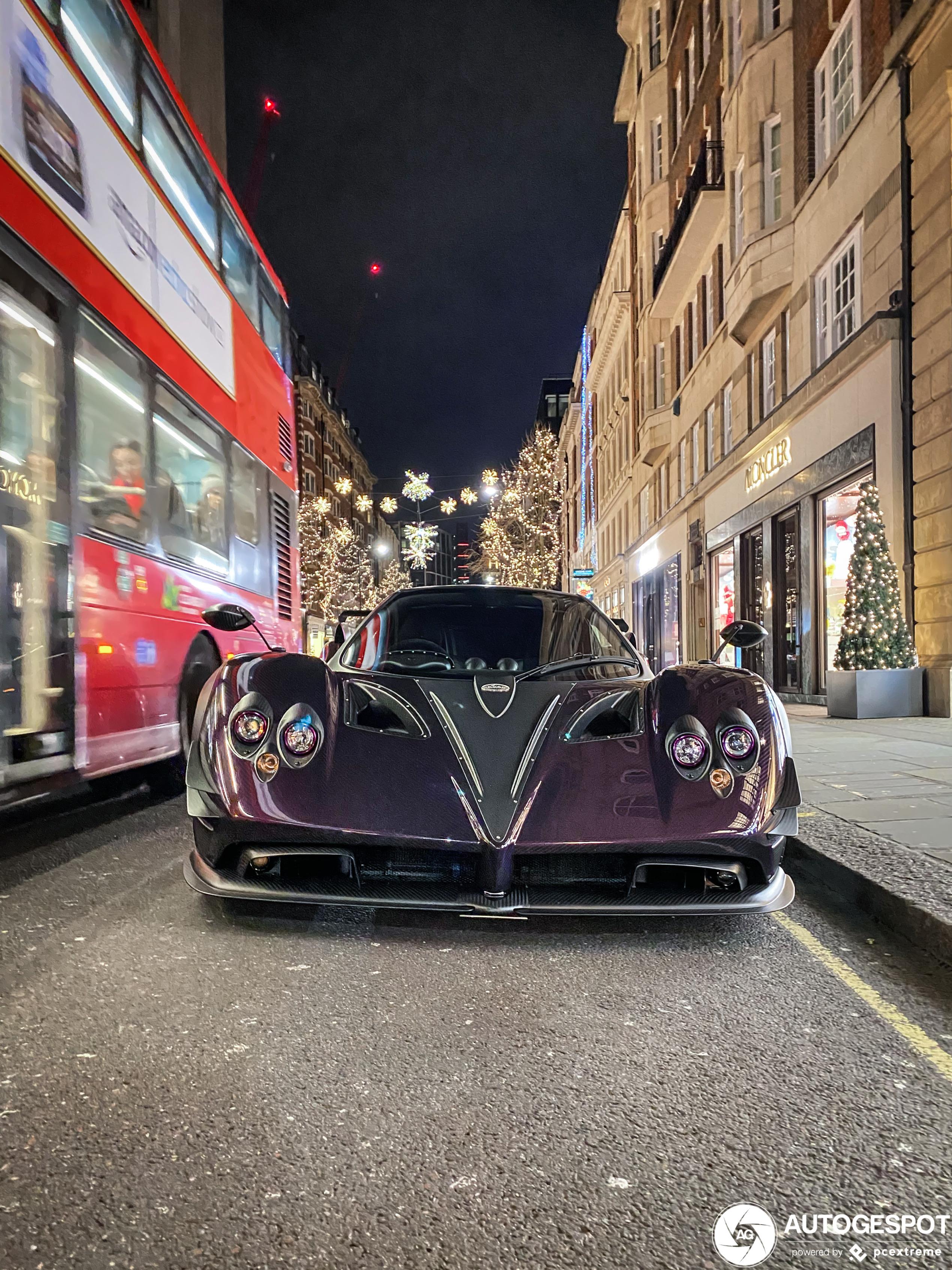 Topspot: Pagani Zonda Zun duikt op in Londen