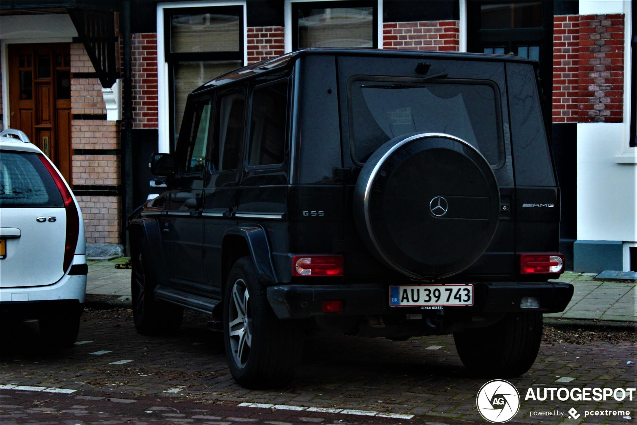 Mercedes-Benz G 55 AMG 2002